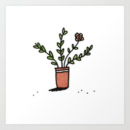 Pretty Plant 1 Art Print