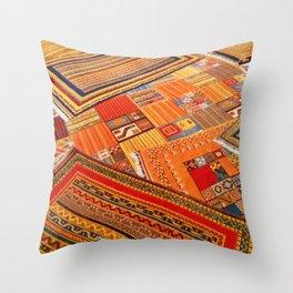 Turkish rugs in Kusadasi Throw Pillow