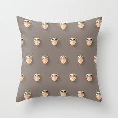 Rey Flat Design Mosaic Throw Pillow