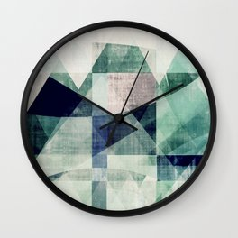art, wall art, home decor, abstract prints, large prints, abstract print, geometric wall art, modern Wall Clock