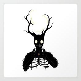 The Fallen Beast Art Print