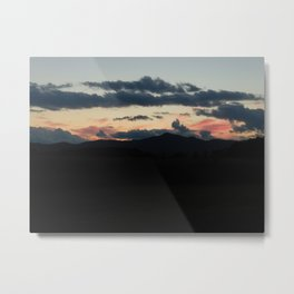 Vermont Evening sky IV Metal Print