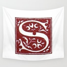 Old letter Wall Tapestry