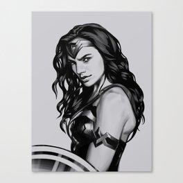 Wonder women Canvas Print
