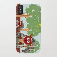 kangaroo iPhone & iPod Cases featuring Kangaroo by Design4u Studio