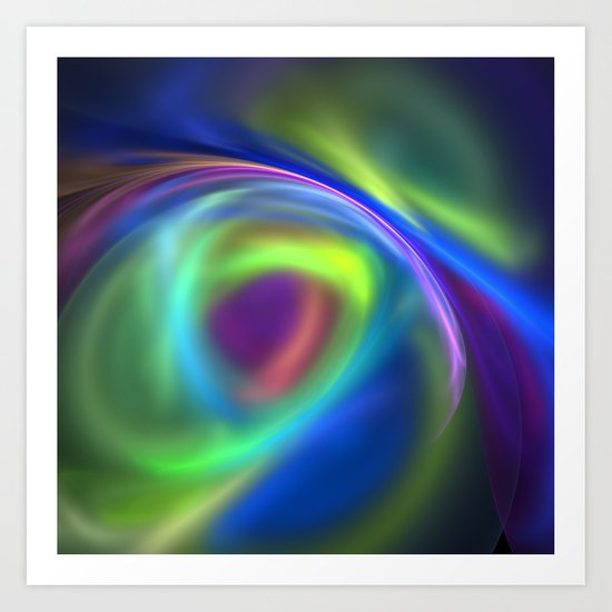 Dreaming in Color Art Print