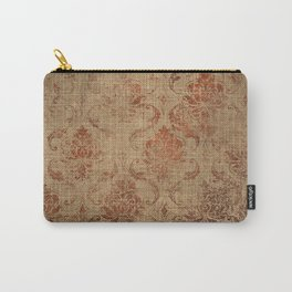 Aged Damask Texture 1 Carry-All Pouch