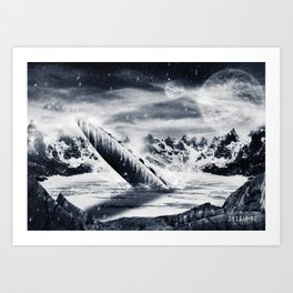 Poster - The ship Art Print
