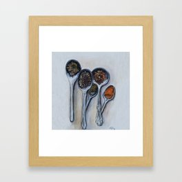 Spoons & Spices Framed Art Print
