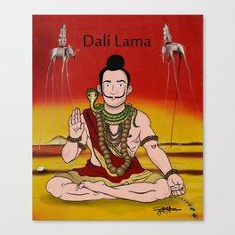 Dalí lama Canvas Print