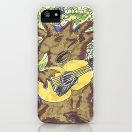 The Tree of Blues iPhone Case