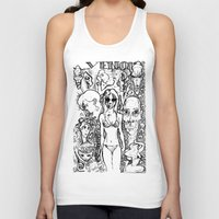 hollywood Tank Tops featuring Hollywood by gallerydod