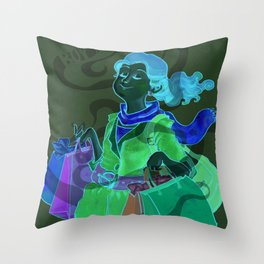 Power of the Nose Throw Pillow