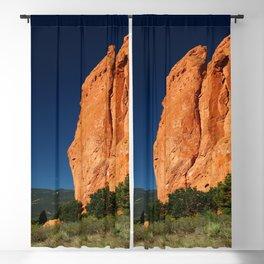 Garden Of Gods View Blackout Curtain