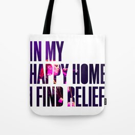 Garbage - 'Happy Home' Tote Bag