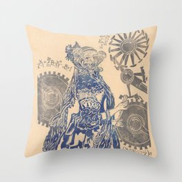 Ada, Countess Lovelace, Enchantress of Numbers Throw Pillow