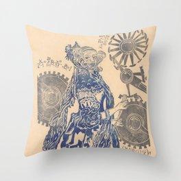 Ada, Countess Lovelace, Enchantress of Numbers Throw Pillow
