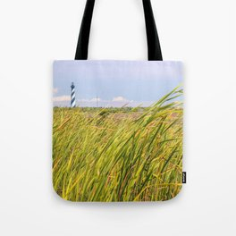 Lighthouse in the Distance Tote Bag