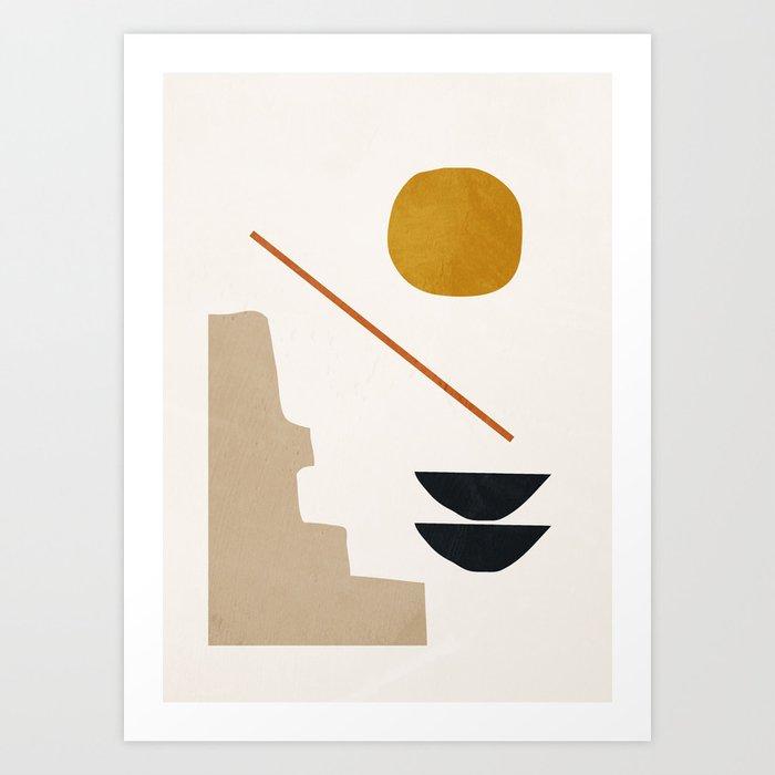 abstract minimal 6 Kunstdrucke