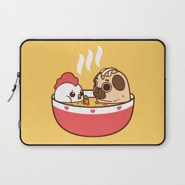 Chicken Noodle Puglie Soup Laptop Sleeve