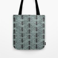 insects Tote Bags featuring Insects by LaMoret