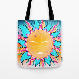 Gypsy Bohemian Dream, Zentangle Sun Tote Bag