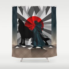 Spirit trapped in mirrors  Shower Curtain