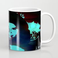 scary Mugs featuring Scary Man by Jussi Lovewell