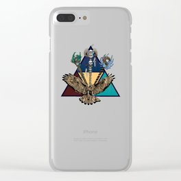 Triforce Clear iPhone Case
