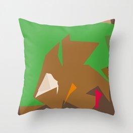 Mistakes away Throw Pillow