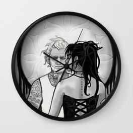 Lion's Tooth Wall Clock