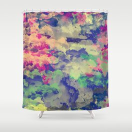 Abstract painting X 0.3 Shower Curtain