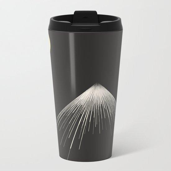 Mountains Peak ( version 2) Metal Travel Mug
