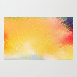 Modern Multi Color Abstract Rug