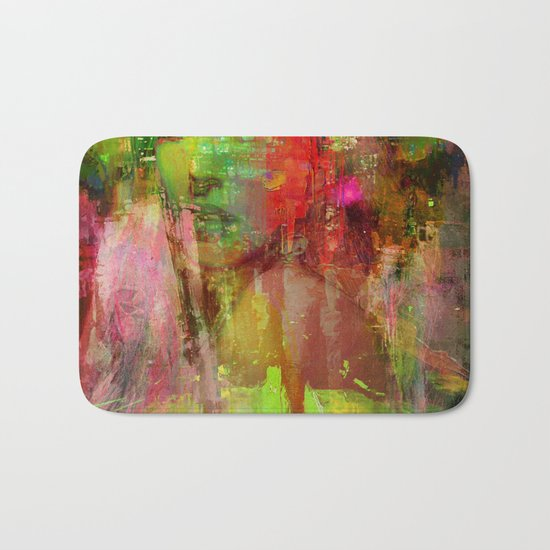 The girl of the road 77 Bath Mat