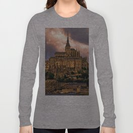 On The Coast Of Normandy Long Sleeve T-shirt