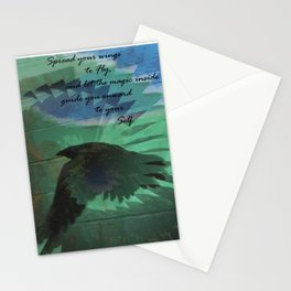 Raven Magic Stationery Cards