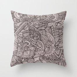 Doodle 8 Throw Pillow