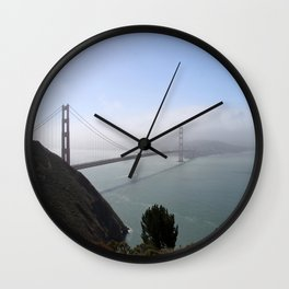 The Golden Gate Bridge Wall Clock
