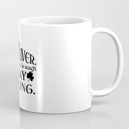 DEAR LIVER, THIS MONTH WILL BE ROUGH STAY STRONG Coffee Mug