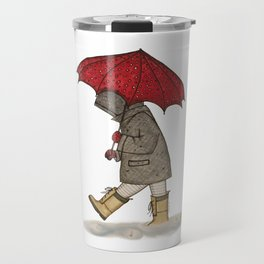 Playing in the Rain Travel Mug