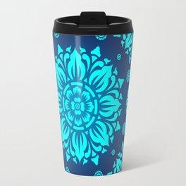PATTERN ART04-Blue Travel Mug