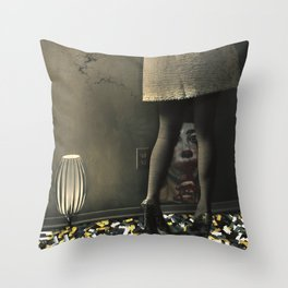 La fête Throw Pillow