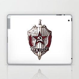 KGB Badge Laptop & iPad Skin