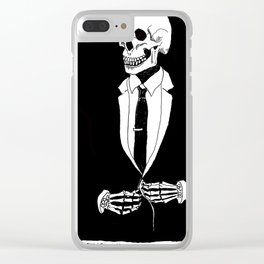 Nothin' Personal Clear iPhone Case