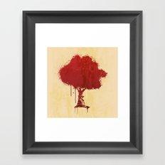 s tree t Framed Art Print