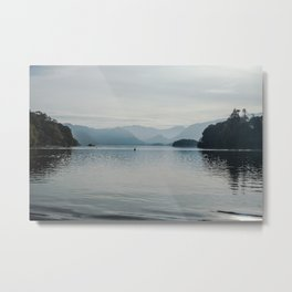 Mysterious Lake. Metal Print