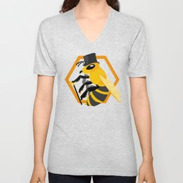 Bee Fancy Unisex V-Neck