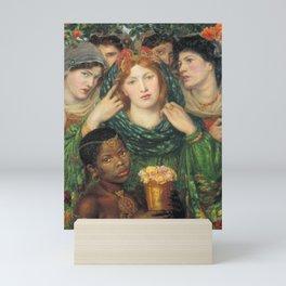 Dante Gabriel Rossetti The Beloved ('The Bride') 1865–6 Mini Art Print