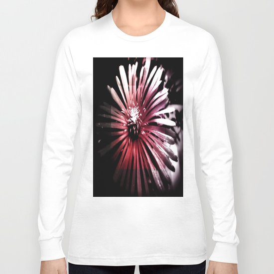 Night Flower Long Sleeve T-shirt